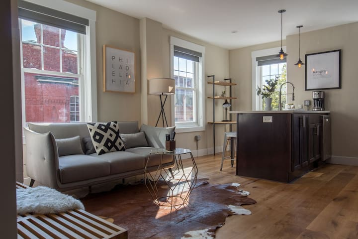 Downtown Philly Apartment Next to Rittenhouse Square