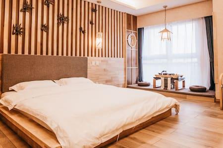 宿织,日式榻榻米大床房