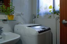 Guests may use the washing machine in the 1st floor. Washing powder is provided.