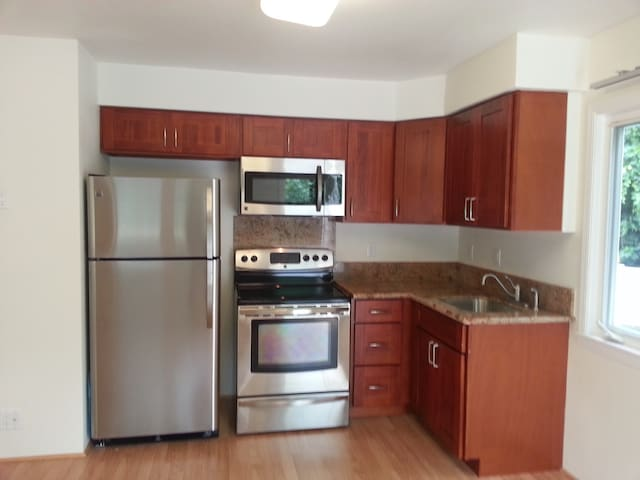 Recently remodeled kitchen.