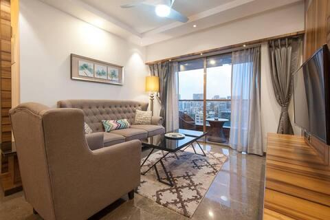 ❤ Luxury 3-Bedroom Service Apartment Near Bandra
