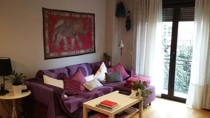 Bajo - jardín privado CC Plenilunio - Madrid - Appartamento
