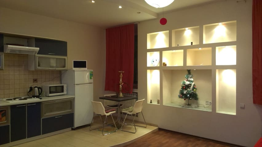 Студия в Дегтярном переулке - Sankt-Peterburg - Apartemen