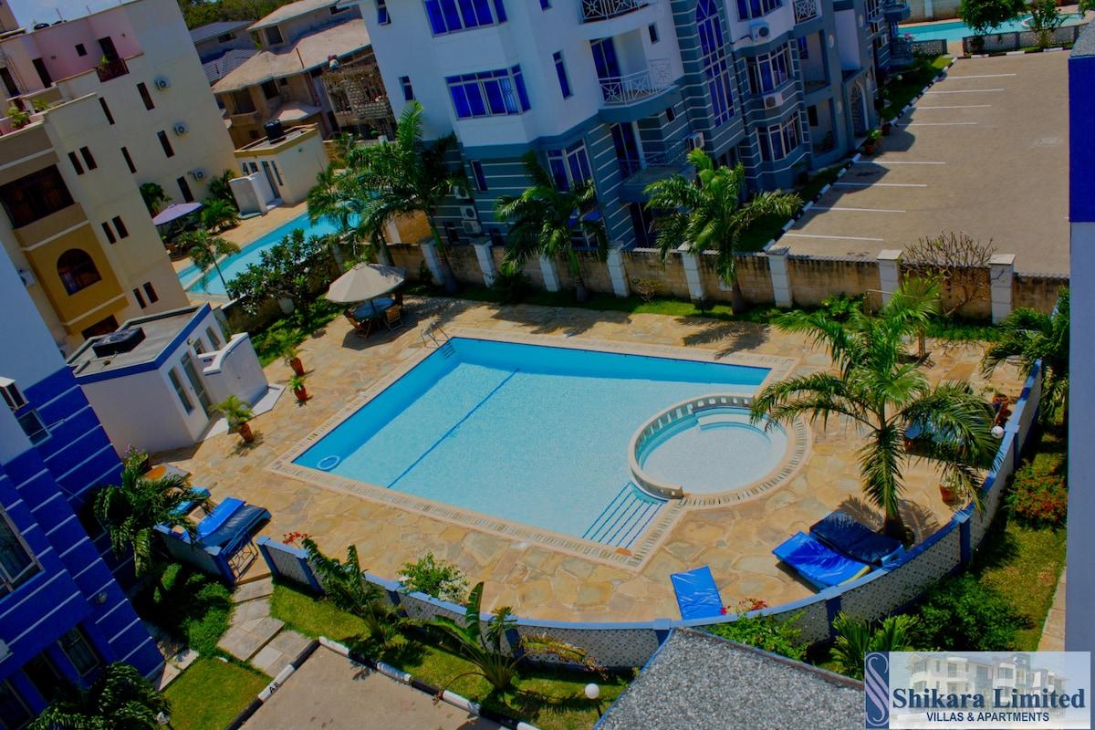 d1 shikara apartments furnished 3 bedroom ensuite apartments for rent in mombasa mombasa county kenya