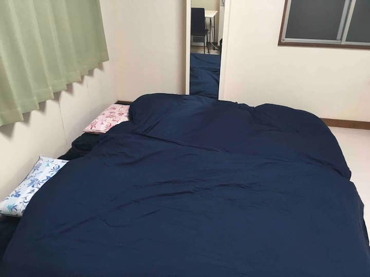 【2F】Oh! White room. 25㎡ large room in Ueno.