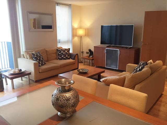 Spacious 2 Bed Flat In Trendy London Close to City - London - Apartment