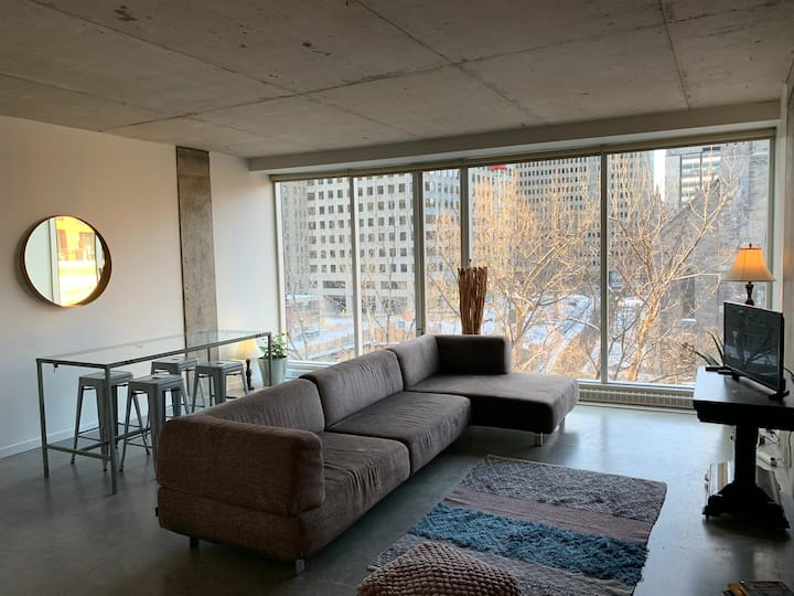 The COZY : Bright Apt for 2 with incredible view!