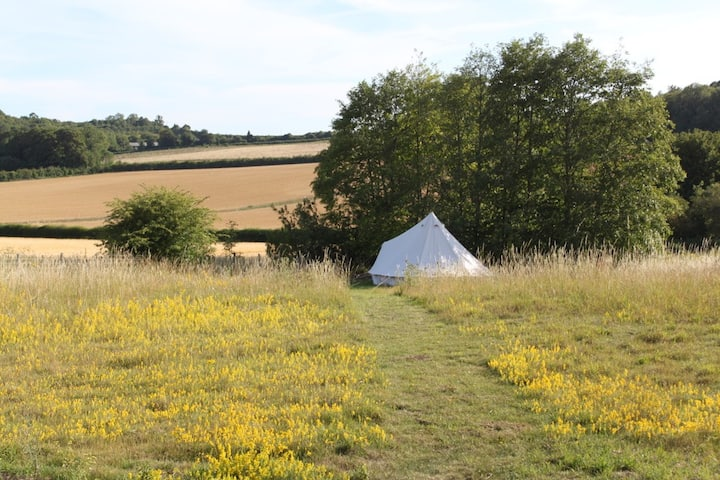 Luxury Bell Tent in an Idyllic & Rural Setting