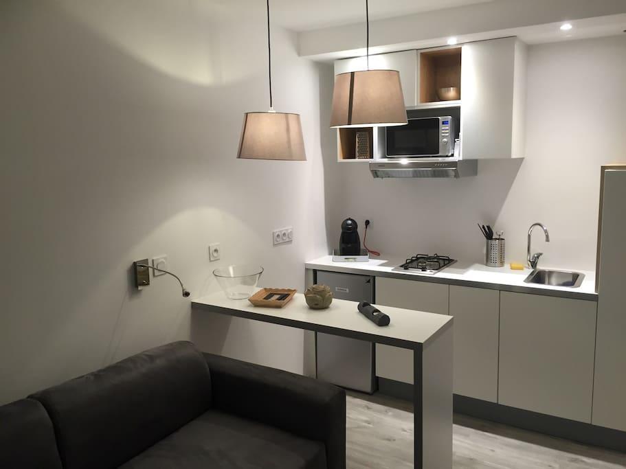 petit studio n 3 r nov tout confort appartamenti in affitto a nantes paesi della loira francia. Black Bedroom Furniture Sets. Home Design Ideas