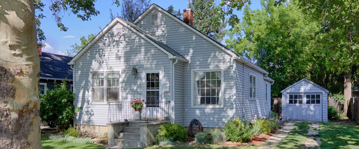 Charming Home By BSU and The Train Depot