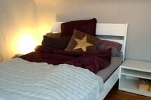 Cheerful little, bright, quiet attic apartment