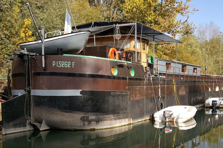 Séjour atypique sur une péniche près de Paris - Poissy - Boat