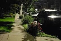 Night neighborhood