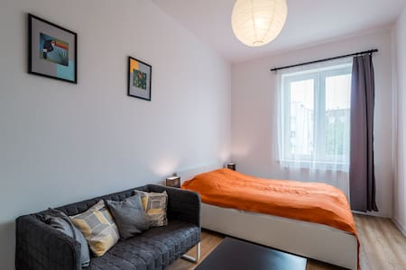 Cosy modern room in Wroclaw city center - Wrocław