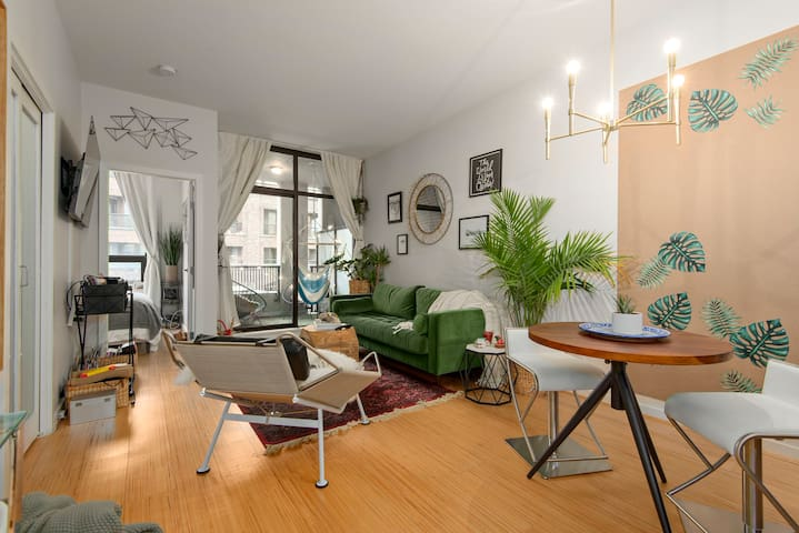 Gorgeous One Bedroom Loft in Crosstown - Vancouver - Apartment