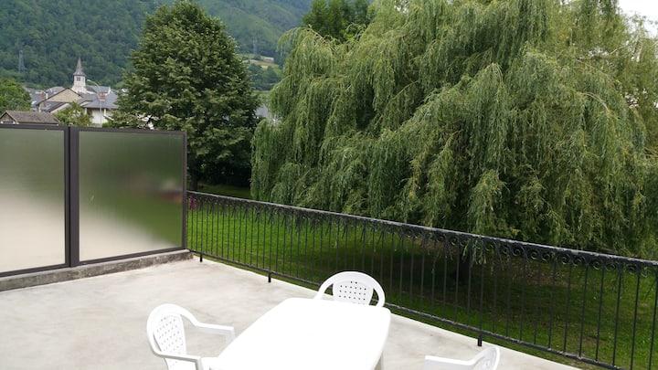 Appartement 69m² Vue montagne+52m²Terrasse+Balcon