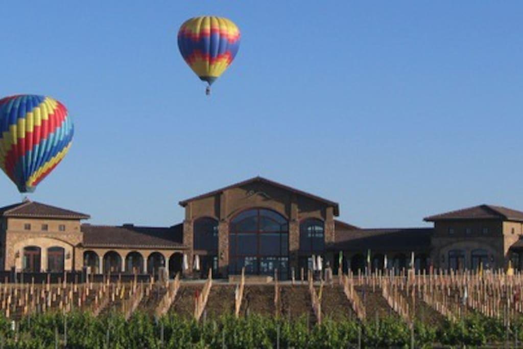 Temecula Wineries and Hot Air Balloon Rides