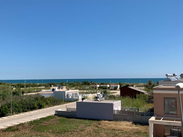 Playa y tranquilidad en Oliva