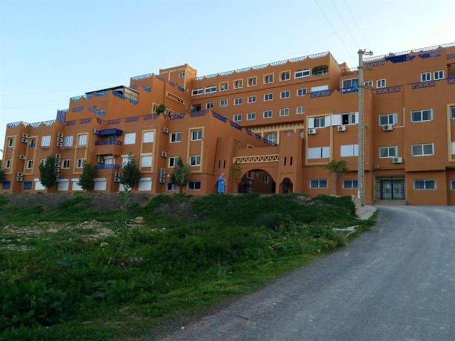 Résidence Tighoula III - Appartement en façade 2éme étage