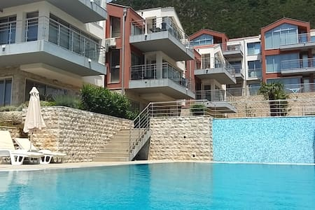 Cool apartment Cotor Bay Herceg Novi Acacia Hill