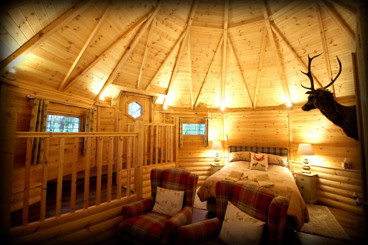 Unique Lodge in Parkland Setting - North Yorkshire - Cabane
