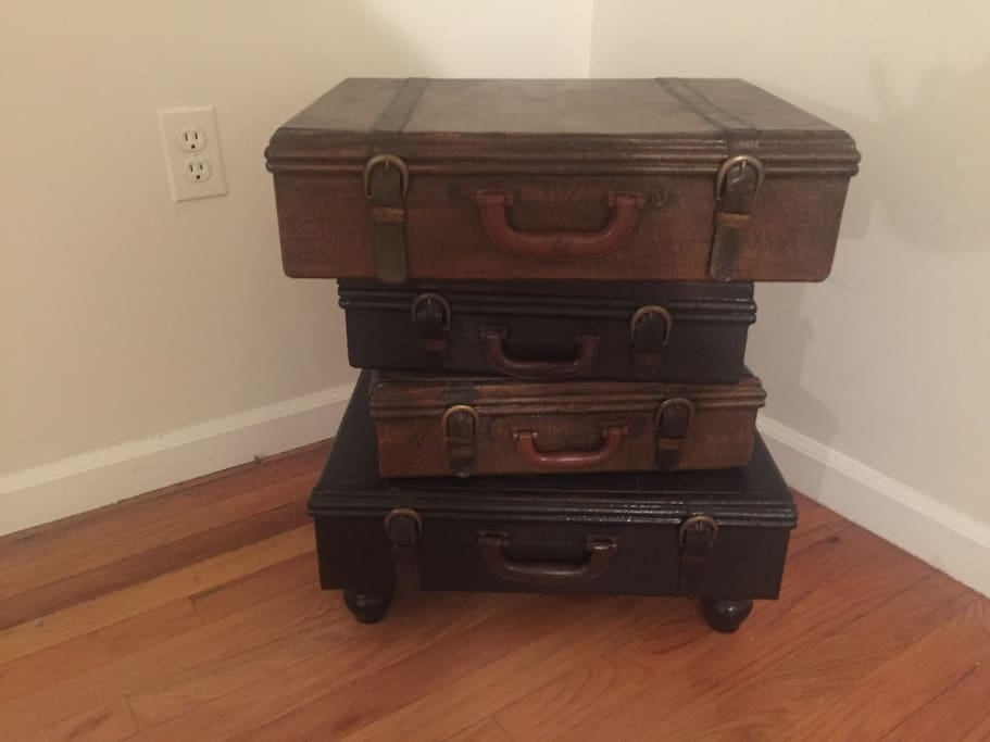 Just some amazing drawers that look like suitcases.