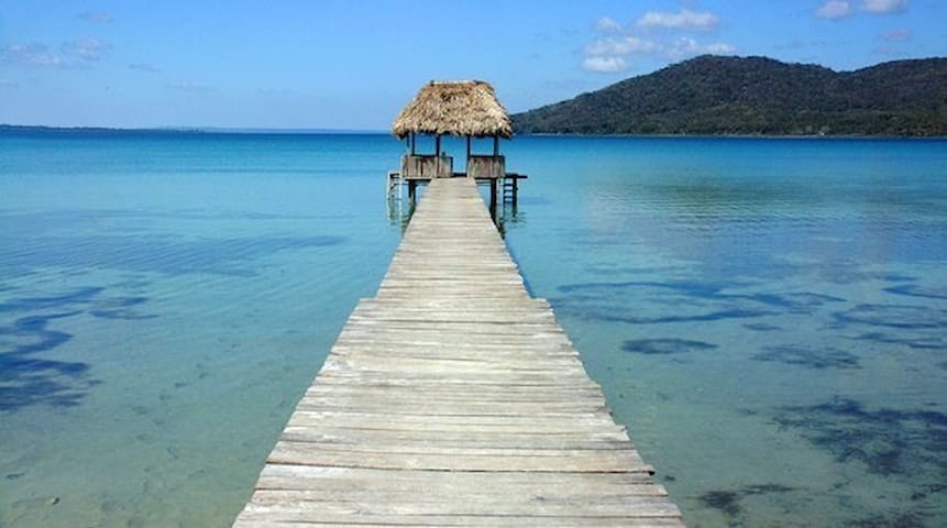 "FRONT ROW LAKE VIEW IN EL REMATE PETEN CASA ""B"""