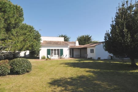 Villa avec grand jardin au calme - La Couarde-sur-Mer - Villa
