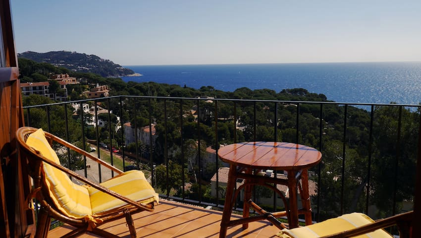 Wonderful Studio with outstanding views - Palafrugell - Appartement