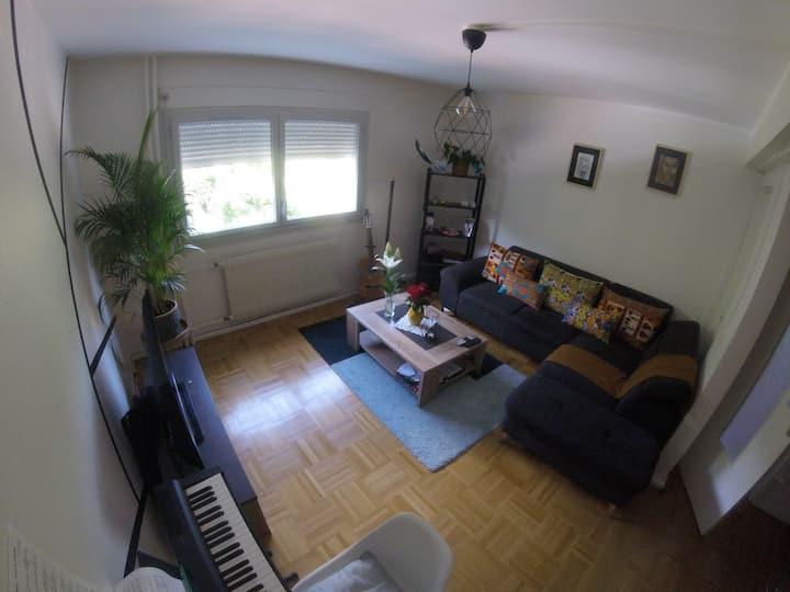 Appart 60m² dans une résidence calme & arborée