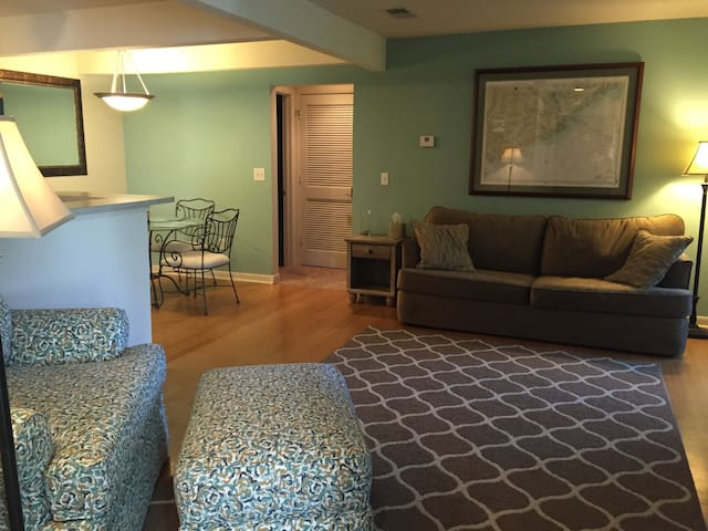 2BR/2BA Condo minutes to Beaches & Downtown Chas