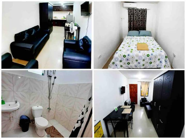 1 BR /Best Value Near Mactan Newtown long stay (D)