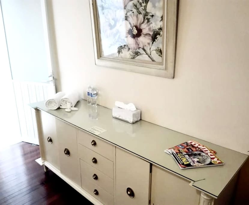 Dresser - plenty of space to put your personal stuff
