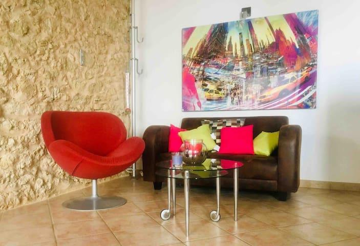 Appartement au centre - calme dans Luberon