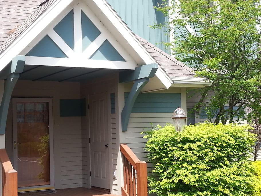 Covered Porch Entrance