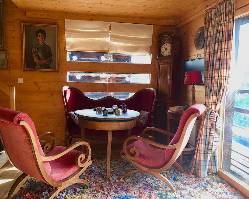Salon grand chalet
