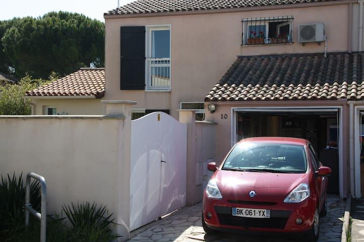 Proche Montpellier- jolie chambre avec salle d'eau - Clapiers - Apto. en complejo residencial
