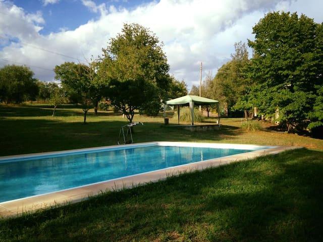 Casale con piscina - Selvaccia