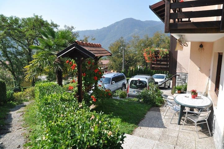 ★Apartment in Tolmin for 7 people★bbq area,pool...