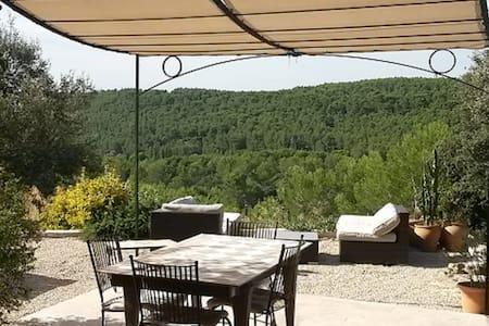 Villa provençale avec piscine - Cornillon-Confoux - Ház
