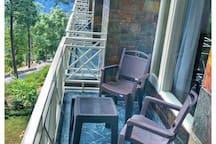 Balcony of the flat