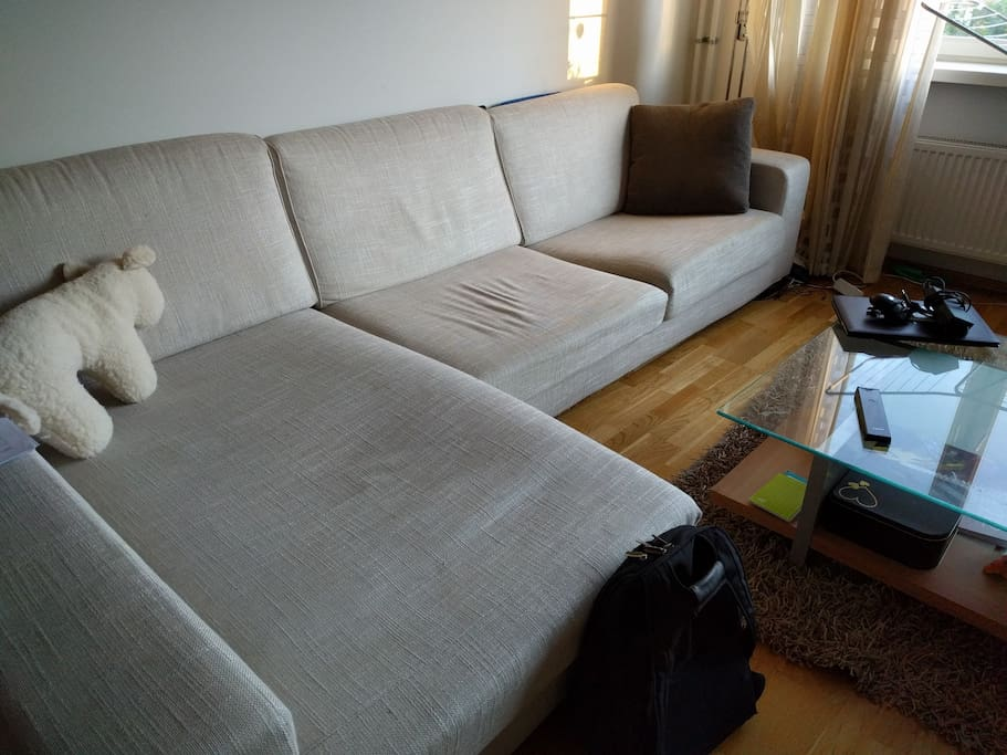 Big sofa - Ideal and very comfortable for 1 person sleeping