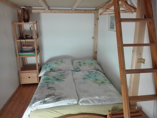 Cosy, quiet room next to Stadthalle, privat garden