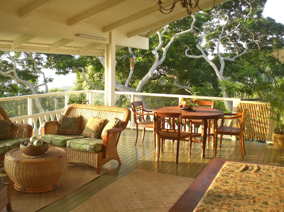 You may spend most of your time on the lanai1
