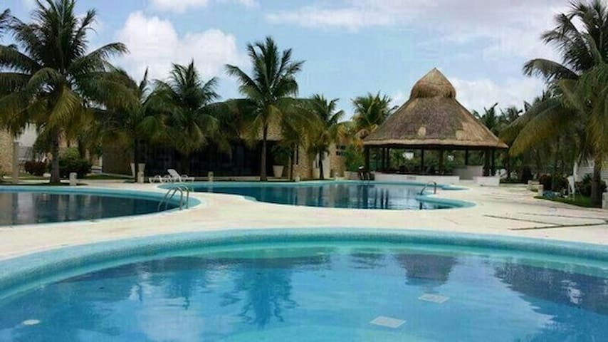 Room in Cancun +Private bathroom +Swimpools - Cancún