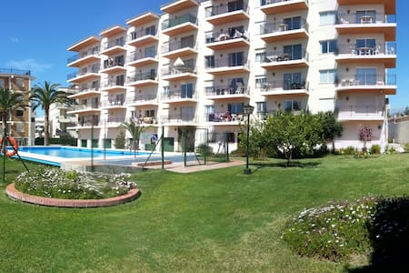 Nice ground floor apartment with pool and garden