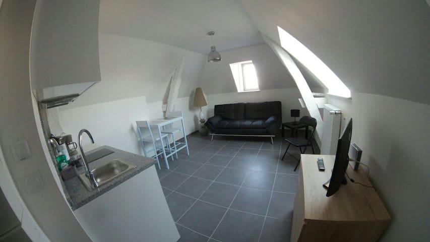 Studio confort et charme Autun plein-centre - Autun - Lejlighed