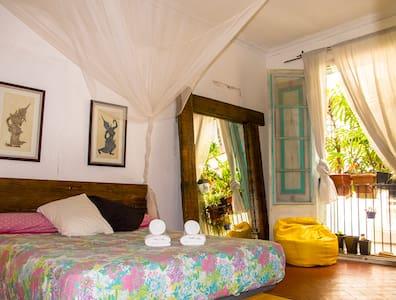 Habitacion con luz natural e intima 5min playa - Barcelona - Apartment