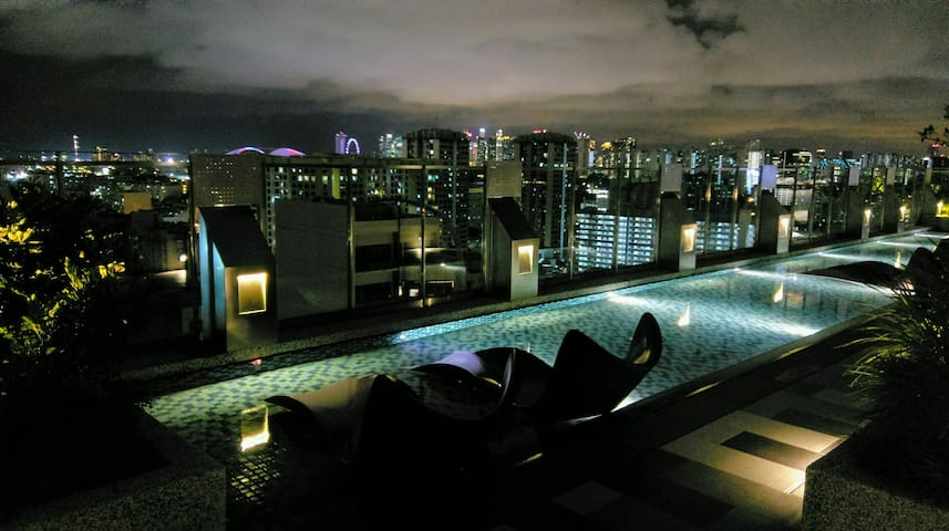 Private Room-Panoramic View / Sky Park / near MRT