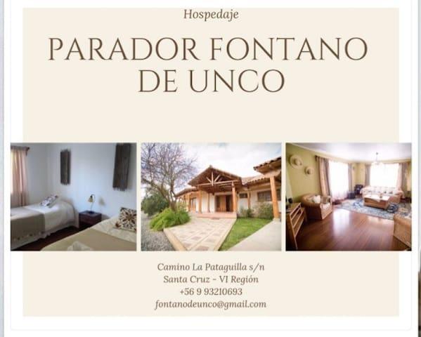 Fontano de unco, TU casa en el Valle de Colchagua